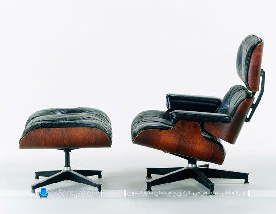 صندلی اداری و مدیرت با پایه مخصوص برای دراز کردن پاها