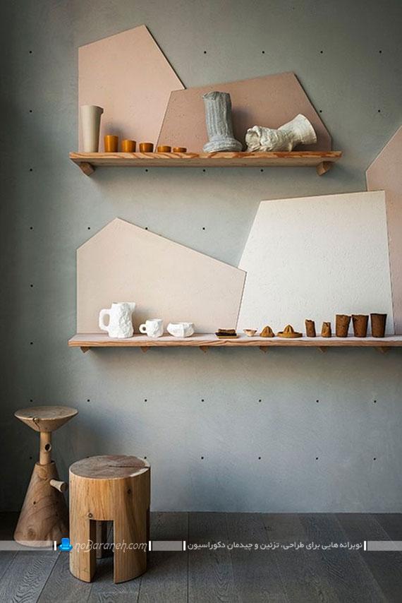 شلف و طاقچه های دیواری طرح جدید با قابلیت جابجایی در سطح دیوار