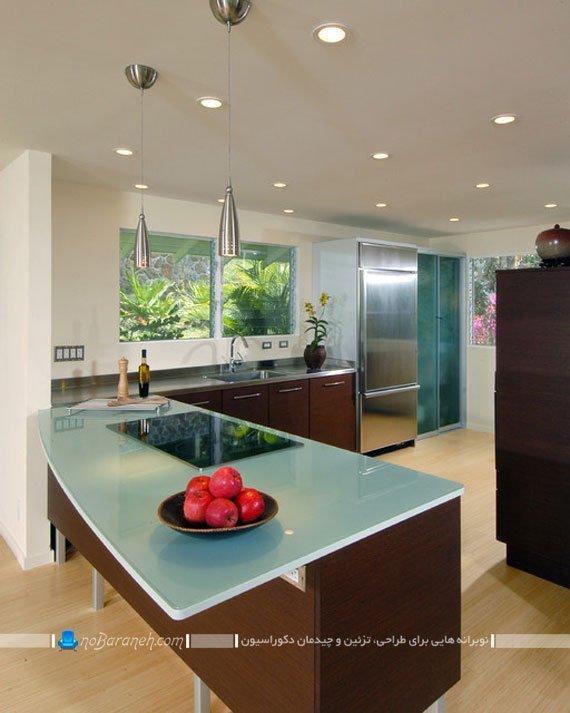 طرح و مدل جدید میز اپن آشپزخانه