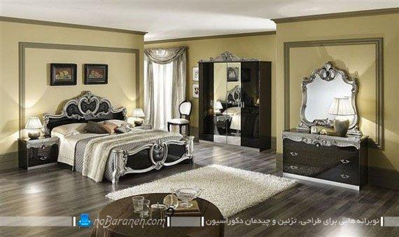 مدل های سرویس خواب و دیزاین سلطنتی اتاق عروس نوبرانه