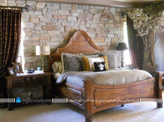 دیوارپوش دکوراتیو اتاق خواب کلاسیک
