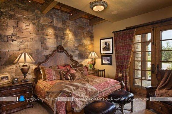 دیوارپوش دکوراتیو و کلاسیک اتاق خواب