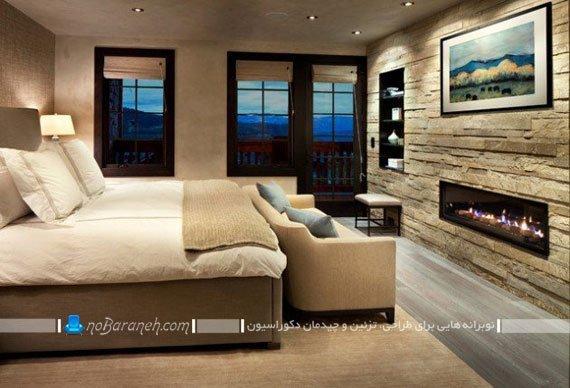 دیوارپوش کلاسیک اتاق خواب
