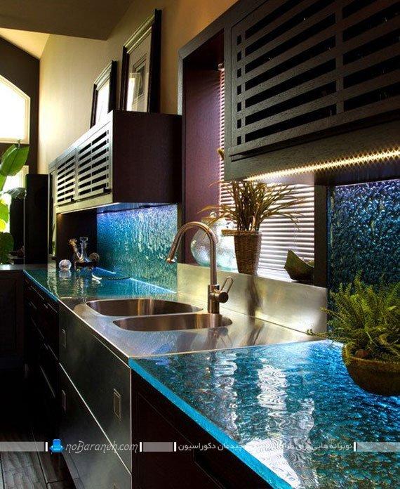 با اپن شیشه ای، آشپزخانه و کابینت را جذابتر جلوه دهید