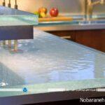 با صفحه و اپن شیشه ای، آشپزخانه و کابینتها را جذابتر جلوه دهید