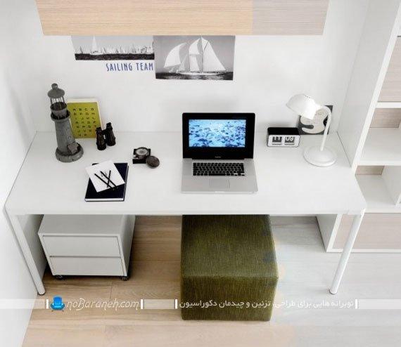 میز کامپیوتر و تحریر برای اتاق نوجوانان