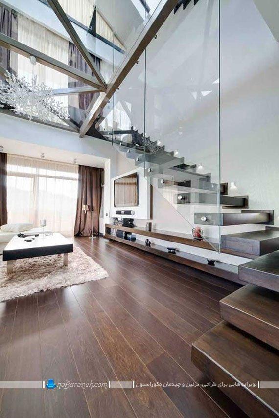 استفاده بهینه از فضای زیر پله های داخلی