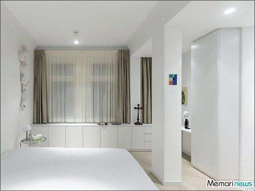 طراحی و تزیین دکوراسیون اتاق خواب با رنگ سفید