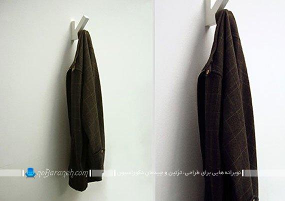 طرح جدید رخت آویز دیواری