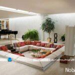 طراحی اتاق نشیمن های دیدنی در داخل و خارج خانه