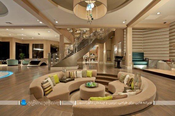 معماری جدید اتاق پذیرایی