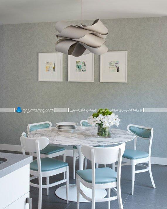 لوستر آویز سقفی برای میز ناهارخوری