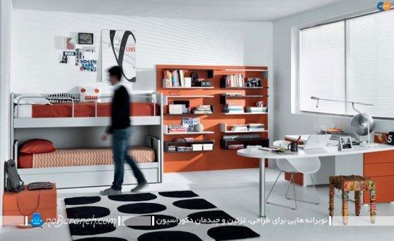 طراحی دکوراسیون اسپرت اتاق جوانان