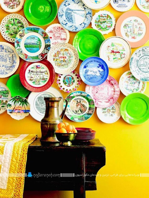 مدلهای نصب ظروف به دیوار