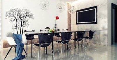 تزیین میز نهارخوری در دکوراسیون