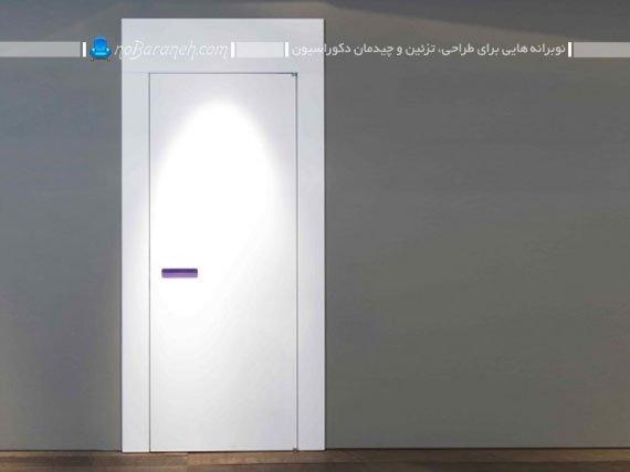 درب چوبی داخلی با تنوع رنگی