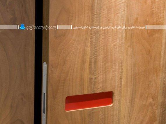 درب چوبی داخلی ساختمان