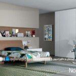 رنگهای متناسب برای تزیین و دیزاین اتاق خواب های جوان پسند