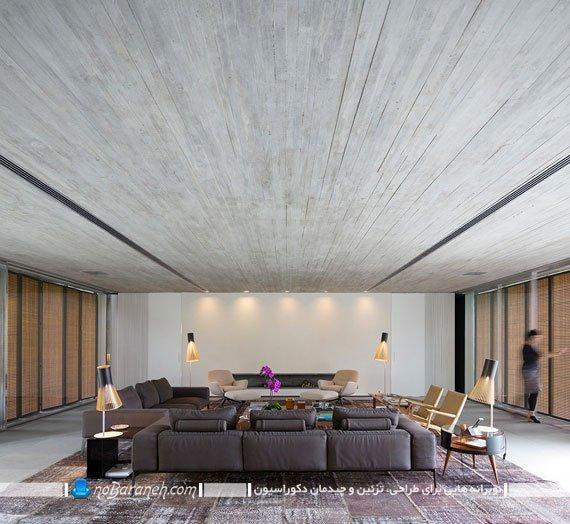 سقف چوبی کاذب