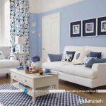دکوراسیون داخلی خانه را با رنگ های شاد تزیین و دیزاین کنید