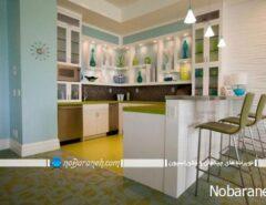 طراحی دکوراسیون آشپزخانه + عکس