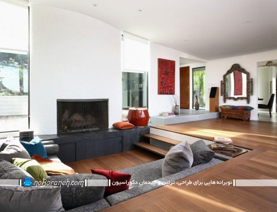مدل های چیدمان و طراحی دکوراسیون اتاق نشیمن کوچک
