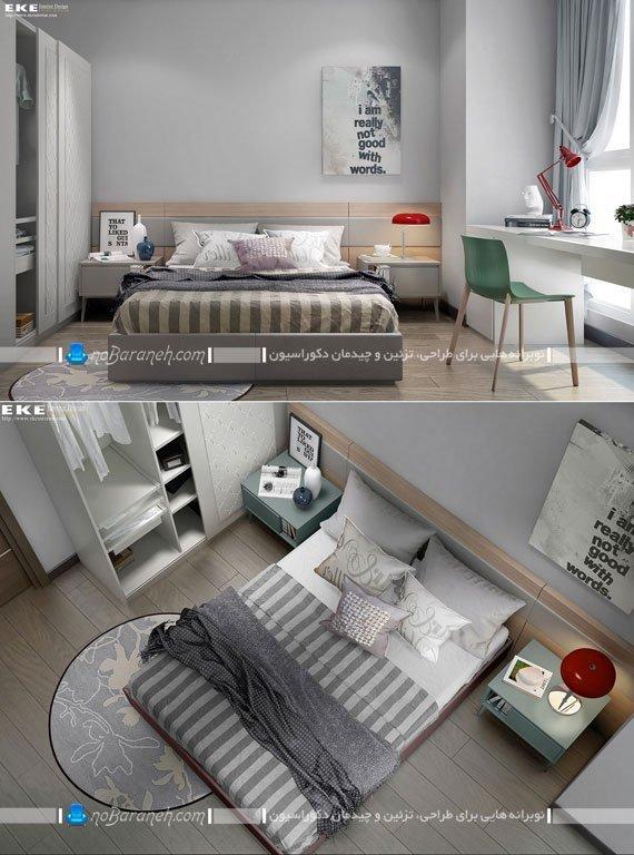 تابلو مدرن برای اتاق خواب