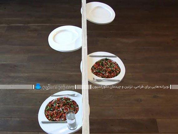 میز غذاخوری و ناهارخوری کوچک