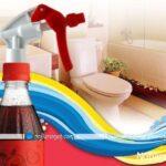 نظافت و تمیز کردن سنگ های حمام و دستشویی با نوشابه