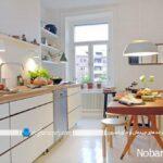 مدلهای جدید و مدرن دکوراسیون و کابینت سفید آشپزخانه