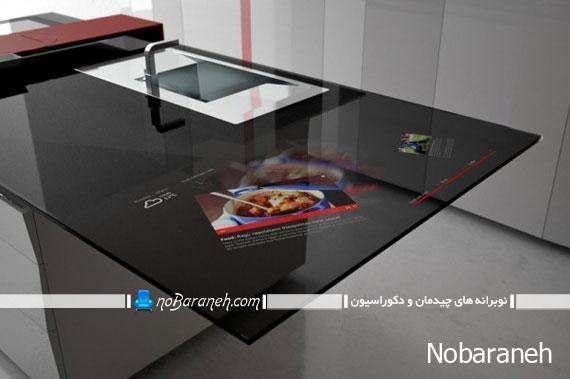 ایده های جدید و خلاقانه تزیینی و کاربردی برای اپن آشپزخانه