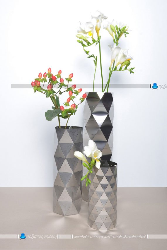 مدل گلدان های فانتزی و رومیزی