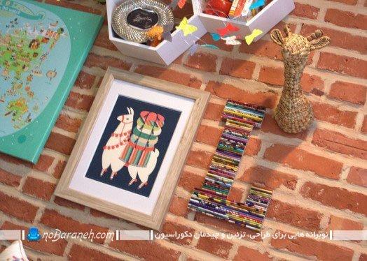 تزئینات دیوار اتاق نوزاد