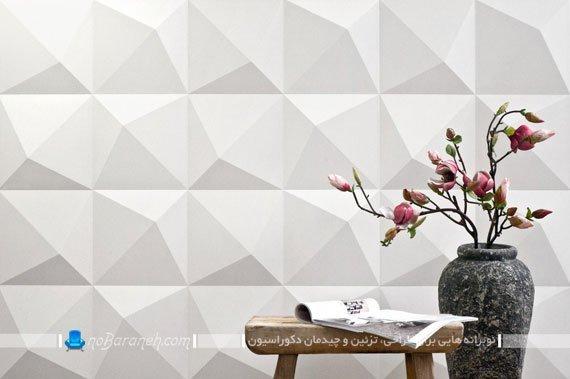 پانل گچی و دیوارپوش سه بعدی