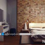 مدل دیوارپوش های پی وی سی pvc برای دیزاین اتاق خواب
