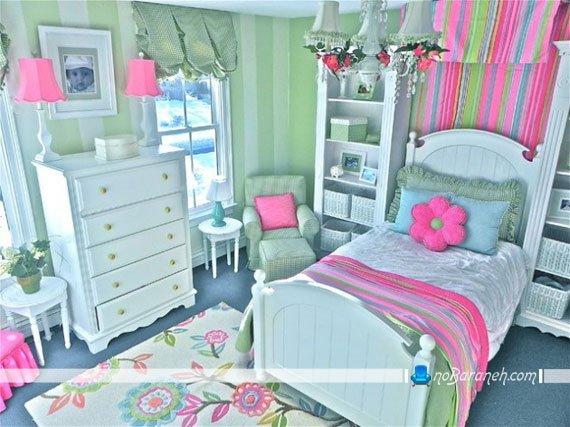 تزیین اتاق خواب خانم های جوان