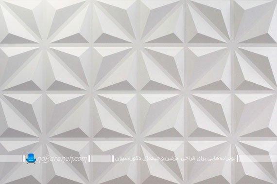 مدل دیوارپوش سه بعدی گچی