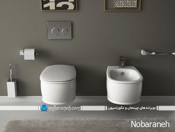 توالت فرنگی با مدل جدید، مدرن با طراحی پایه سر خود