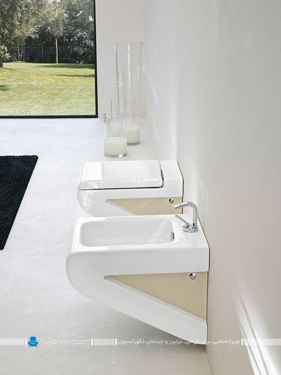 توالت فرنگی دیواری