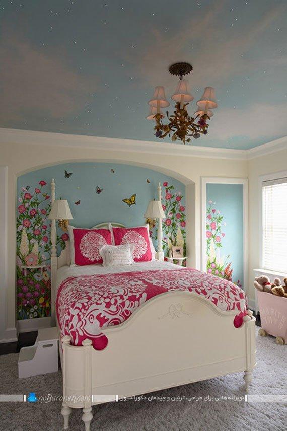 تزیین دیوارهای اتاق خواب دختر خانمها