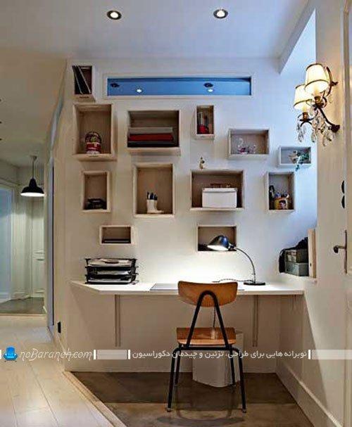 دکوراسیون اتاق مطالعه در منزل