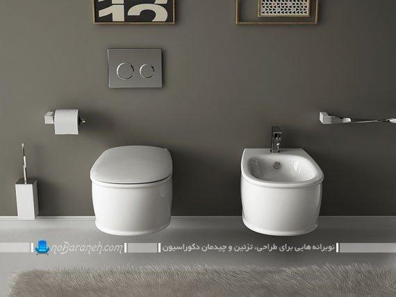 طرح جدید توالت و سرویس فرنگی