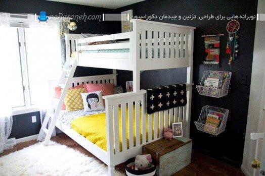 مدل سرویس خواب دو طبقه اتاق کودک + عکس