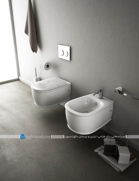 طرح جدید توالت فرنگی