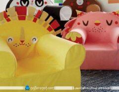 صندلی بادی بچه گانه در مدل های عروسکی و کودکا...