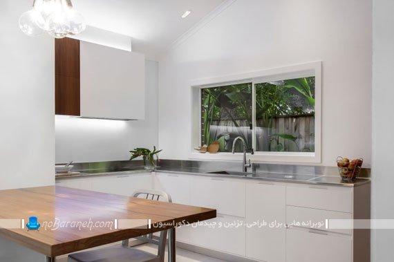 طراحی دکوراسیون مینیمالیستی آشپزخانه