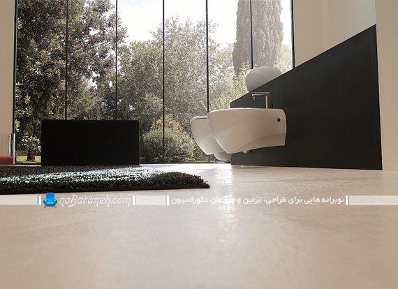 توالت فرنگی بدون پایه