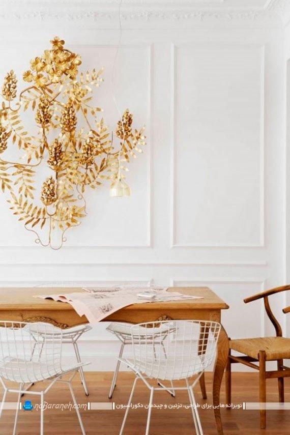 میز ناهارخوری چوبی و کلاسیک
