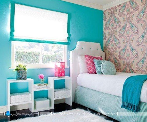 کاغذ دیواری فانتزی و زیبا برای اتاق کودکان و نوجوانان