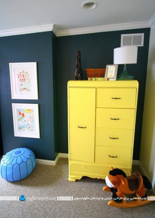مدل کمد ساده و ارزان برای اتاق نوزاد